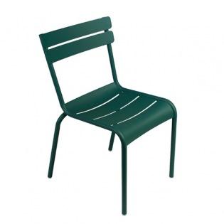 Luxembourg Stuhl, zederngrün