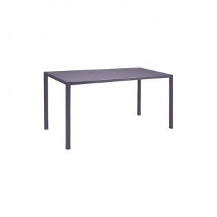 Fermob Inside Out Tisch rechteckig, Pflaume
